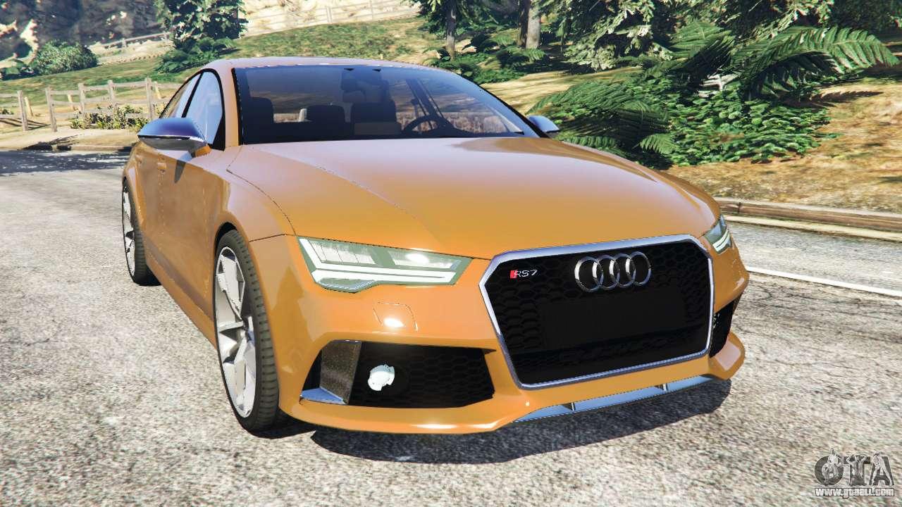 Audi RS7 2016 for GTA ...