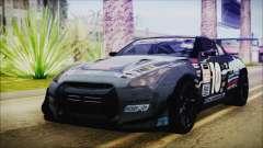 Nissan GT-R R35 Naoto for GTA San Andreas