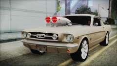 Ford Mustang Fastback 1966 Chrome Edition for GTA San Andreas