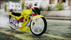 Yamaha Tuning Full Cromo for GTA San Andreas