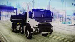 Volvo FMX Euro 6 for GTA San Andreas