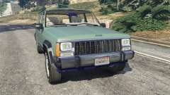 Jeep Cherokee XJ 1984 [Beta] for GTA 5