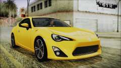 Toyota GT86 (ZN6) 2012 HD Algeria PJ for GTA San Andreas
