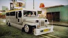 Markshop Jeepney for GTA San Andreas