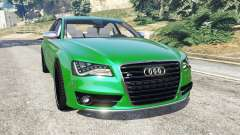 Audi S8 Quattro 2013