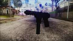 TEC-9 Tiger Stripe for GTA San Andreas