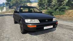 Toyota Corolla 1.6 XEI [black edition] v1.02 for GTA 5