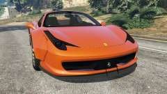 Ferrari 458 Italia Spider [LibertyWalk] for GTA 5