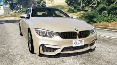BMW M4 2015 v1.1 for GTA 5