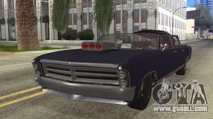 GTA 5 Albany Lurcher Cabrio Style for GTA San Andreas