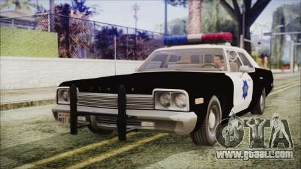 Dodge Monaco 1974 SFPD IVF for GTA San Andreas