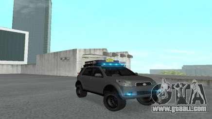 Toyota Terios 2009 OFF-ROAD MUD-TERRAIN for GTA San Andreas