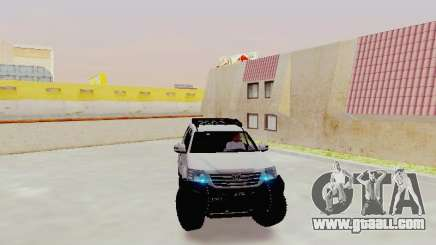 Toyota Fortuner 4WD 2015 Rustica V2 for GTA San Andreas