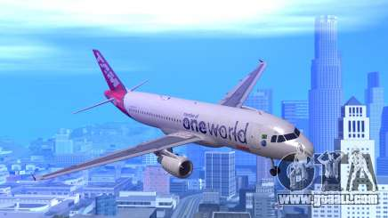 Airbus A320-200 TAM Airlines Oneworld for GTA San Andreas