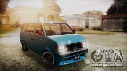 GTA 5 Declasse Moonbeam No Interior for GTA San Andreas
