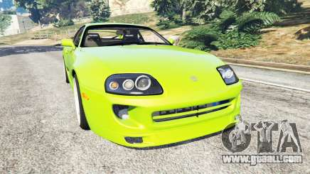 Toyota Supra JZA80 for GTA 5