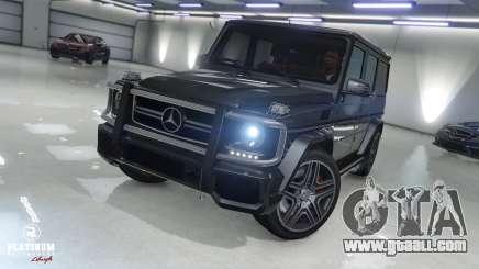 Mercedes-Benz G63 AMG v1 for GTA 5