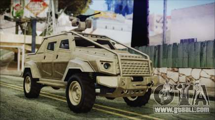 GTA 5 HVY Insurgent Pick-Up for GTA San Andreas