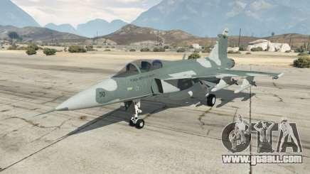 Saab JAS 39 Gripen NG FAB [Beta] for GTA 5