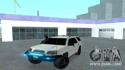 Toyota 4runner 2008 semi-off_road LED for GTA San Andreas