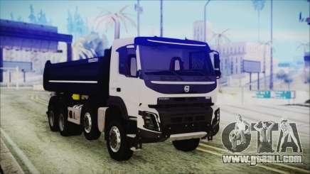 Volvo FMX Euro 6 for GTA San Andreas