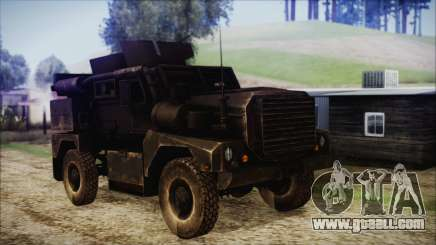 Cougar MRAP 4x4 for GTA San Andreas