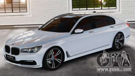 BMW 7-er 2016 v2.0 for GTA 4