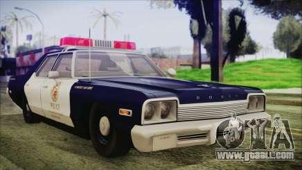 Dodge Monaco 1974 LSPD General Duties Unit for GTA San Andreas