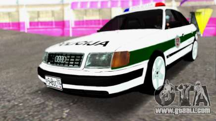 Audi 100 C4 1995 Police for GTA San Andreas