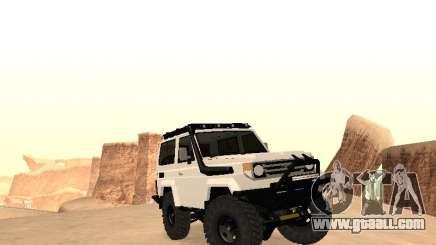 Toyota Machito Off-Road (IVF) 2009 for GTA San Andreas