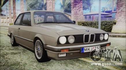 BMW 320i E21 1985 LT Plate for GTA San Andreas