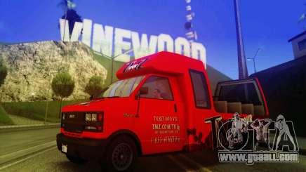 TMZ Tourbus for GTA San Andreas