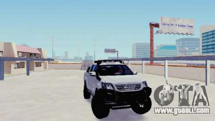 Toyota Hilux Rustica v2 2015 for GTA San Andreas