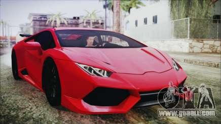 Lamborghini Huracan LP610-4 Novitec Torado 2015 for GTA San Andreas