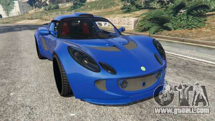 Lotus Exige 240 2008 for GTA 5