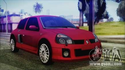 Renault Clio v6 Tunable for GTA San Andreas