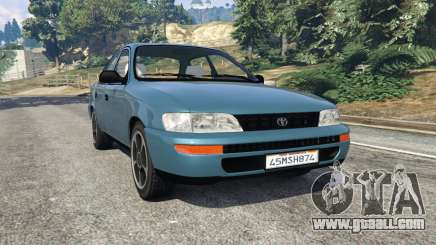 Toyota Corolla 1.6 XEI v1.02 for GTA 5