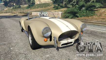 AC Cobra v1.3 for GTA 5