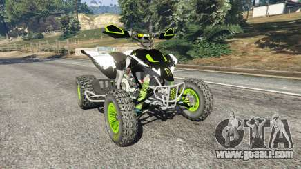 Yamaha YZF 450 ATV Monster Energy for GTA 5