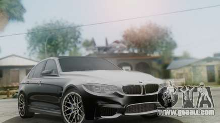 BMW M3 F30 SEDAN for GTA San Andreas