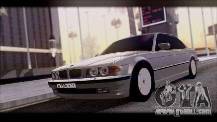 BMW 7-er E38 for GTA San Andreas