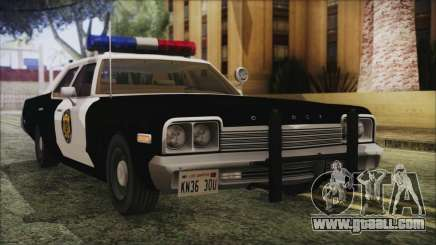 Dodge Monaco 1974 LVPD IVF for GTA San Andreas