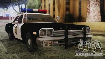 Dodge Monaco 1974 LVPD IVF for GTA San Andreas