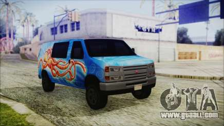 GTA 5 Bravado Paradise Octopus Artwork for GTA San Andreas