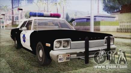 Dodge Monaco 1974 SFPD for GTA San Andreas