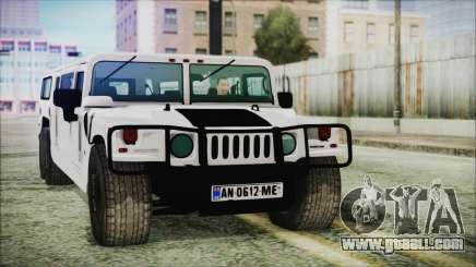 Hummer H1 Limo 6x6 for GTA San Andreas