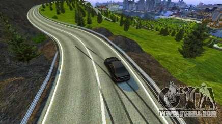 Stelvio Pass Track for GTA 4