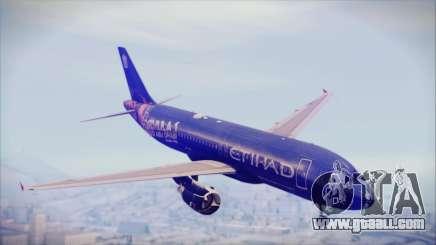 Airbus A320-200 Etihad Airways Abu Dhabi Grand for GTA San Andreas