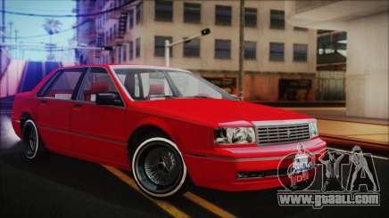 GTA 5 Albany Primo Custom No Interior for GTA San Andreas
