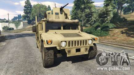 HMMWV M-1116 [desert] for GTA 5